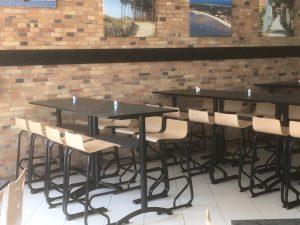 Mobilier pour restaurant d entreprise eurotable for Equipement mobilier restaurant