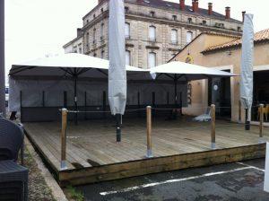 EUROTABLE mobilier pour restaurant, EUROTABLE mobilier pour terrasse de restaurant parasols banquettes pour brasserie